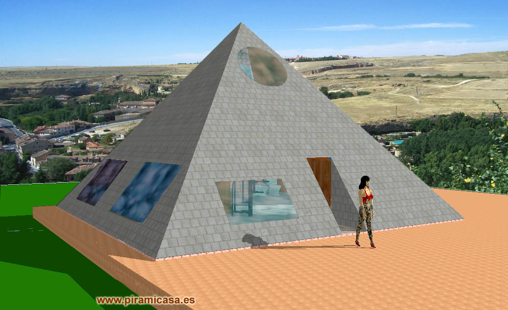 Architecture Of Pyramid Casa Of Piramicasa