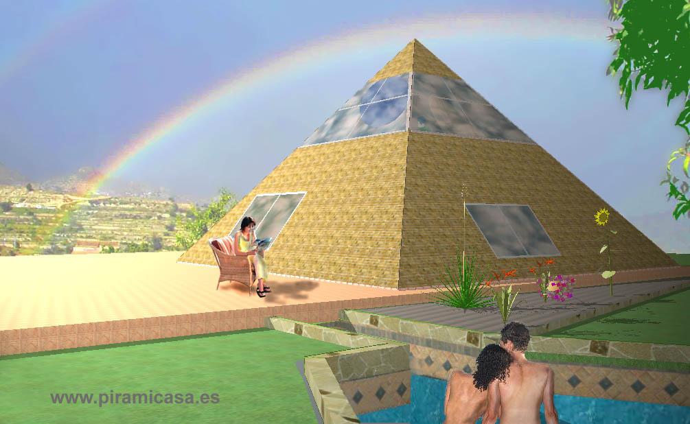 Architecture of pyramid casa of piramicasa for Pyramid home plans